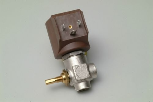 "Dampfmagnetventil (STEAM SOLENOID VALVE) CEME 1/4"" WITH REG. 230V (9922) Ø 2,8mm"