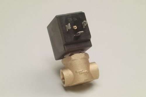 "Dampfventil 1/4"" (STEAM SOLENOID VALVE SA-MA 1/4"" 230V MEDIUM (175) Ø 2,8mm"