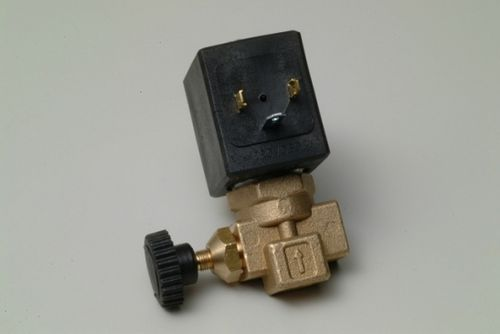 "Dampventil 1/4"" (STEAM SOLENOID VALVE SA-MA 1/4"" WITH REG). 24V (150/R) Ø 2,8mm"