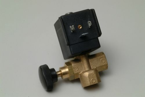 "Dampfventil 1/4"" (STEAM SOLENOID VALVE SA-MA 1/4"" WITH REG. 230V MEDIUM) (180/R) Ø 2,8mm"